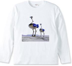 駝鳥ロボ 004 / ブルー