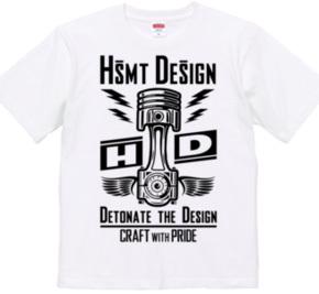 HSMT design PISTON FLYING EYE(BLACK)