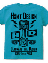 HSMT design PISTON FLYING EYE(BLACK/BACK
