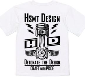 HSMT design PISTON FLYING EYE(BLACK/BACK