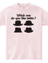 お好みの帽子はどれ?