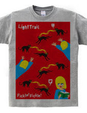Flickle! Flickle! Light Trail Cat!