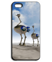 Ostrich robot 005 / Sky iPhone