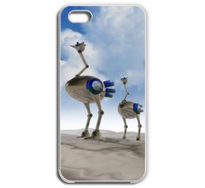 駝鳥ロボ 005 / 青空 iPhone