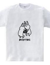 バスケットボール -ボールの取り合い