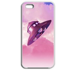 青空と円盤 / Pink iPhone
