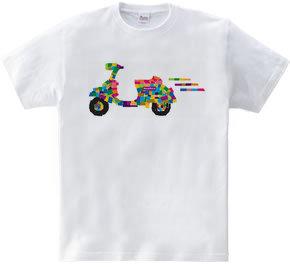バイクで走りだす