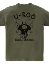 V Rod skull engine