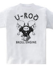 V Rod skull engine