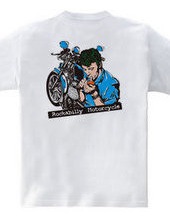 リーゼントとバイク