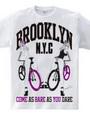 BROOKLYN NYC 自転車 ピンナップ ガールズ