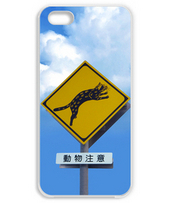 Traffic signs of Iriomote cat iPhone