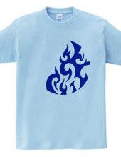円形トライバルデザイン14-05-Blue