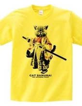 【超斬新! 超かっこいい!】猫侍 cat samurai