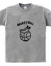 バスケットボール 海老天のせ