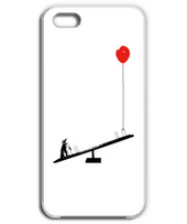 Penguin balloons and seesaw