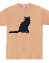 Zooシャツ 彼女は決まって「ニャオ」と言う。