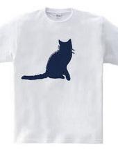 Zooシャツ|彼女は決まって「ニャオ」と言う。