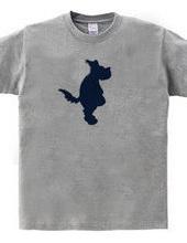 Zooシャツ|たたずむ犬。