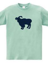 Zooシャツ やさしいヤギ