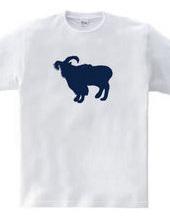 Zooシャツ|やさしいヤギ