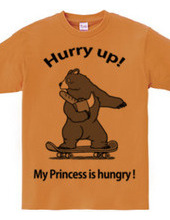 Bears are in a hurry