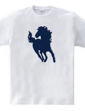 Zoo-Shirt | Horse running with the hair