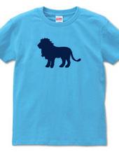 Zooシャツ|百獣の王、堂々たる