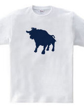 Zooシャツ|雄牛、強し