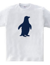 Zooシャツ ペンギン、ひとりぼっち