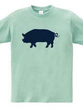 Zoo-Shirt | Pig brings happiness.