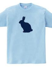 Zooシャツ|うさぎ、なにみてはねる?