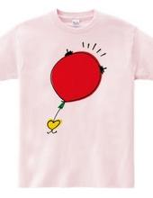Run balloon-Red