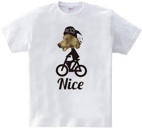 ナイス クマ サイクリスト
