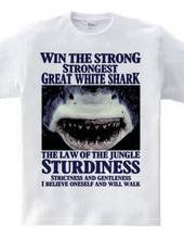 弱肉強食 最強 サメ 強者追求Design