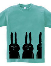 ラフに大ウサギ