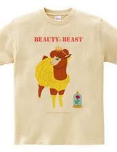 美女と野獣Tシャツです。