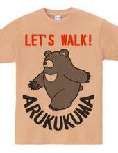 Walking bear!