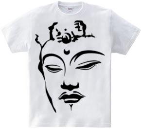 文殊菩薩の顔