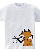 狐につままれる