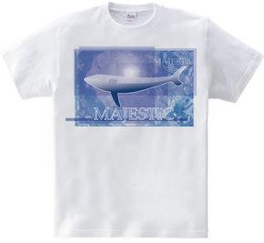 泳ぐクジラ【MAJESTIC】