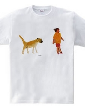 Cuban dog and aunt