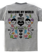 WELCOME MY WORLD