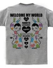 WELCOME MY WORLD