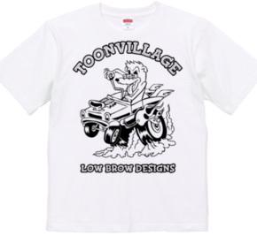 TOONVILLAGE LOW BROW DESIGNS MONOTONE