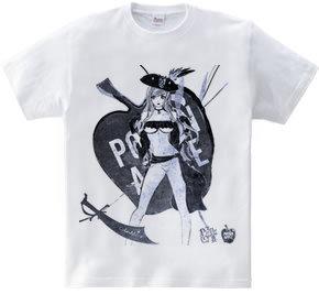 ビキニ海賊女と毒リンゴ 黒装束ver.
