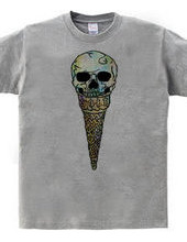Skull ice cream