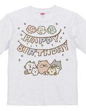 お誕生日のひと専用Tシャツ