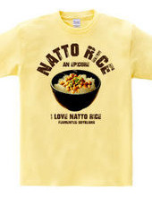 I LOVE natto meal vintage style