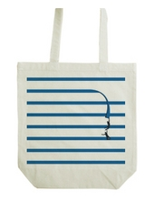 Blue tape_tote